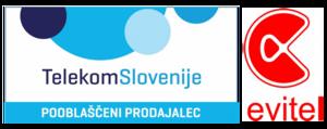 Evitel - Telekom Slovenije logo | Kamnik | Supernova Qlandia
